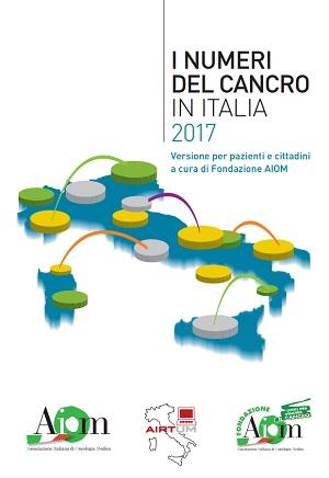copertina volume I numeri del cancro in Italia 2017